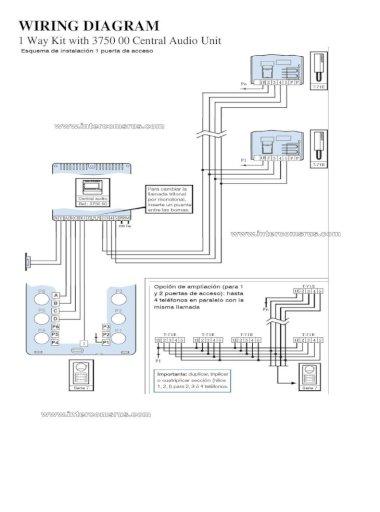 Intercoms R Us Pdf Tegui T 71e Audio, Intercom Wiring Diagram Pdf