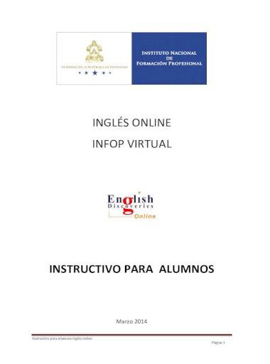 Ingles Online Infop 2014 03 14 English Discoveries Online Edo Por Que Edo Es Un Producto