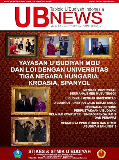 Yayasan U Budiyah Mou Dan Loi Dengan Universitas Media Informasi Stikes Dan Stmik U Budiyah
