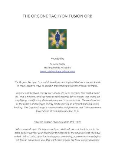 Energie tachyon USA Tachyon