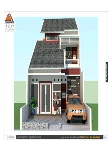 Gambar Kerja Desain Rumah Minimalis Pdf