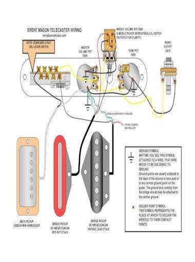 Wiring Diagram B Mason, Tele Wiring Diagrams