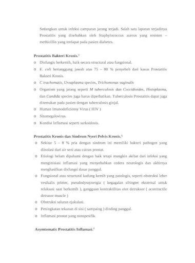Prosztatagyulladás etiológia patogenezis kezelése