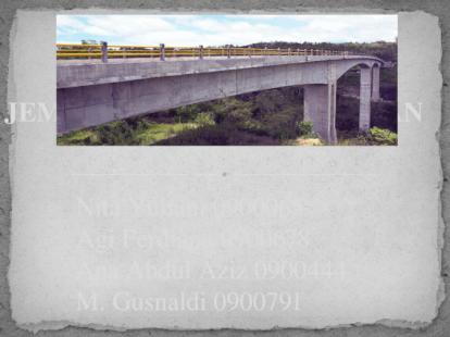 Jembatan Beton Pratekan