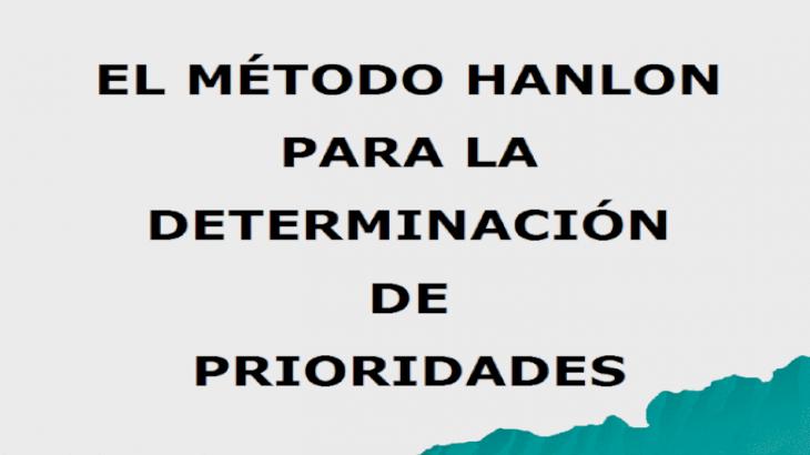 EL MTODO HANLON PARA LA DETERMINACIN DE PRIORIDADES