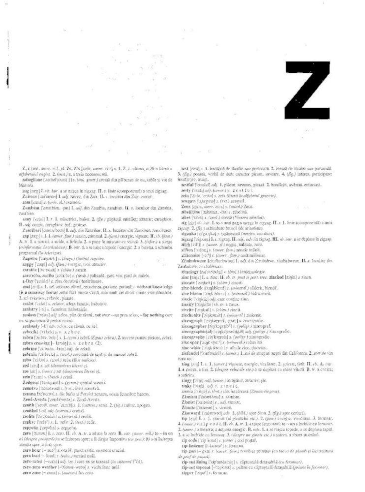 Dictionar Englez Roman PDF