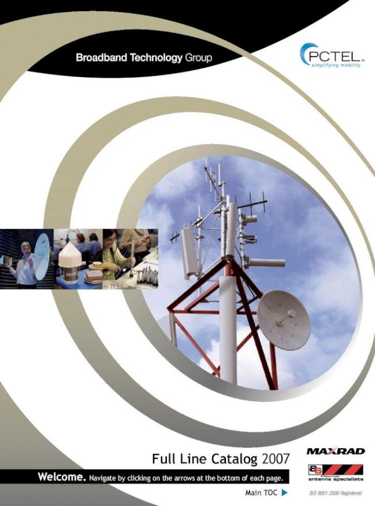 NEW MFB-24006 PCTEL Omnidirectional Base Antenna 2400-2483 MHz Gain 6 dBi 25 W