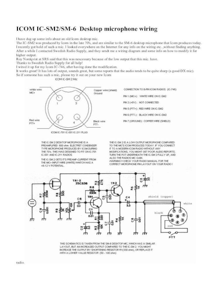 Icom Mic Wiring - General Wiring Diagrams112.ly.tarnopolski.de