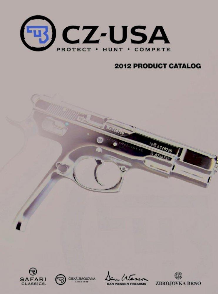 SHOTGUNS CZ-USA HANDGUNS 2008 CATALOG CENTERFIRE  RIMFIRE SAFARI RIFLES