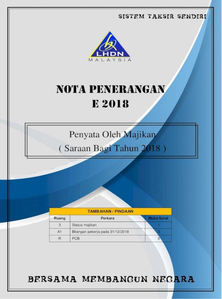 Nota Penerangan E 2018 Jika Amaun Pinjaman Melebihi Rm300 000