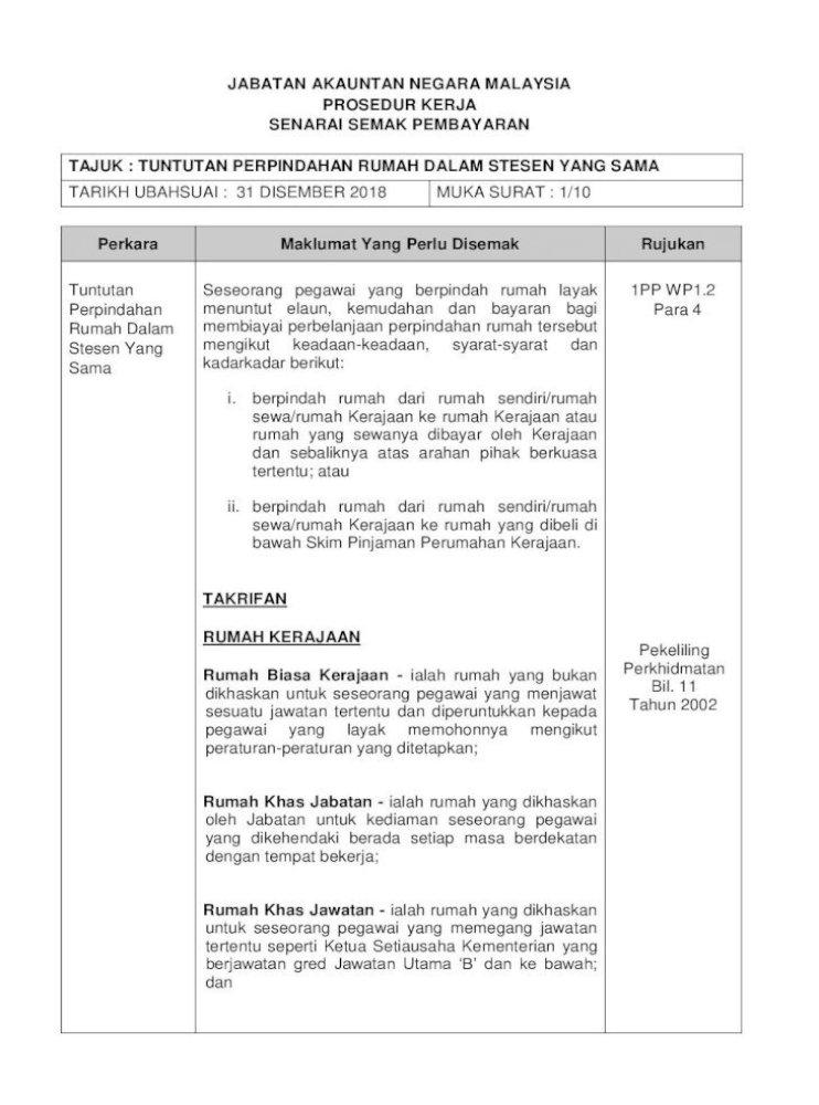Jabatan Akauntan Negara Malaysia Prosedur Perpindahan Rumah Dalam