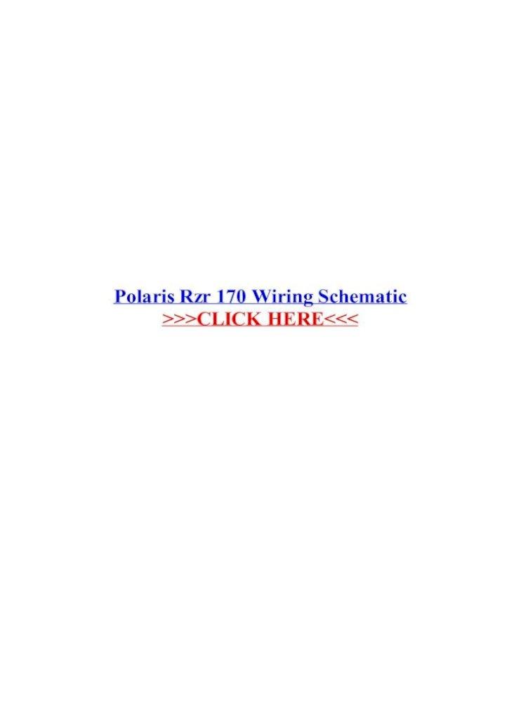 polaris rzr 170 wiring schematic - .polaris rzr 170 wiring schematic new 2014  polaris rzr 170 for  dokumen.tips